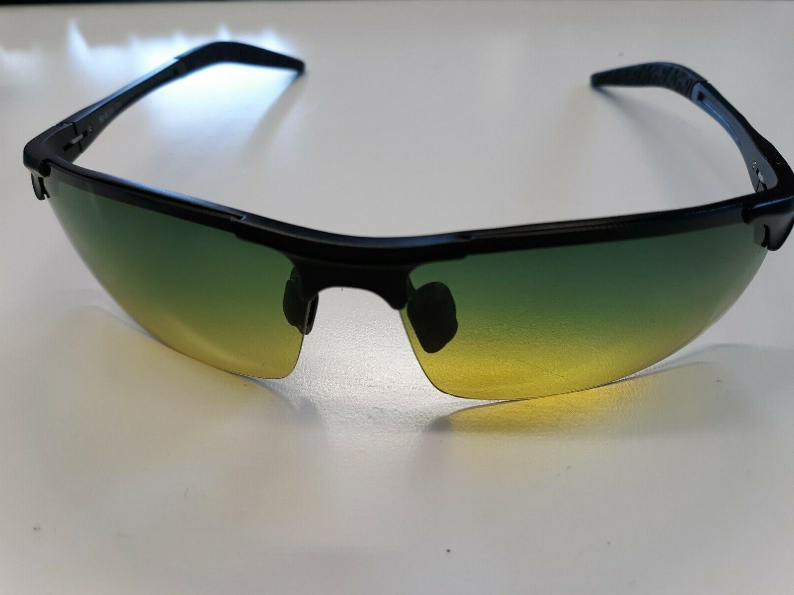 unisex polarized sunglasses stylish sun glasses yellow