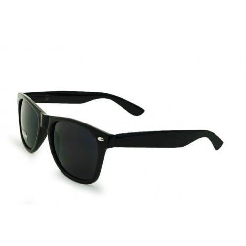 UNISEX Sunglasses  CLASSIC Black Frame 100% UV NEW MEN WOMEN
