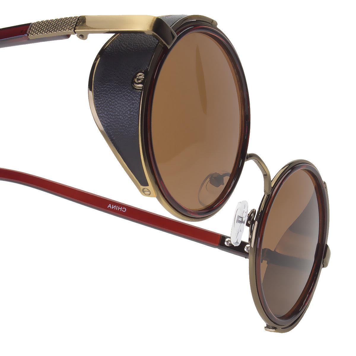 Vintage Round Sun Goggles Punk Sunglasses