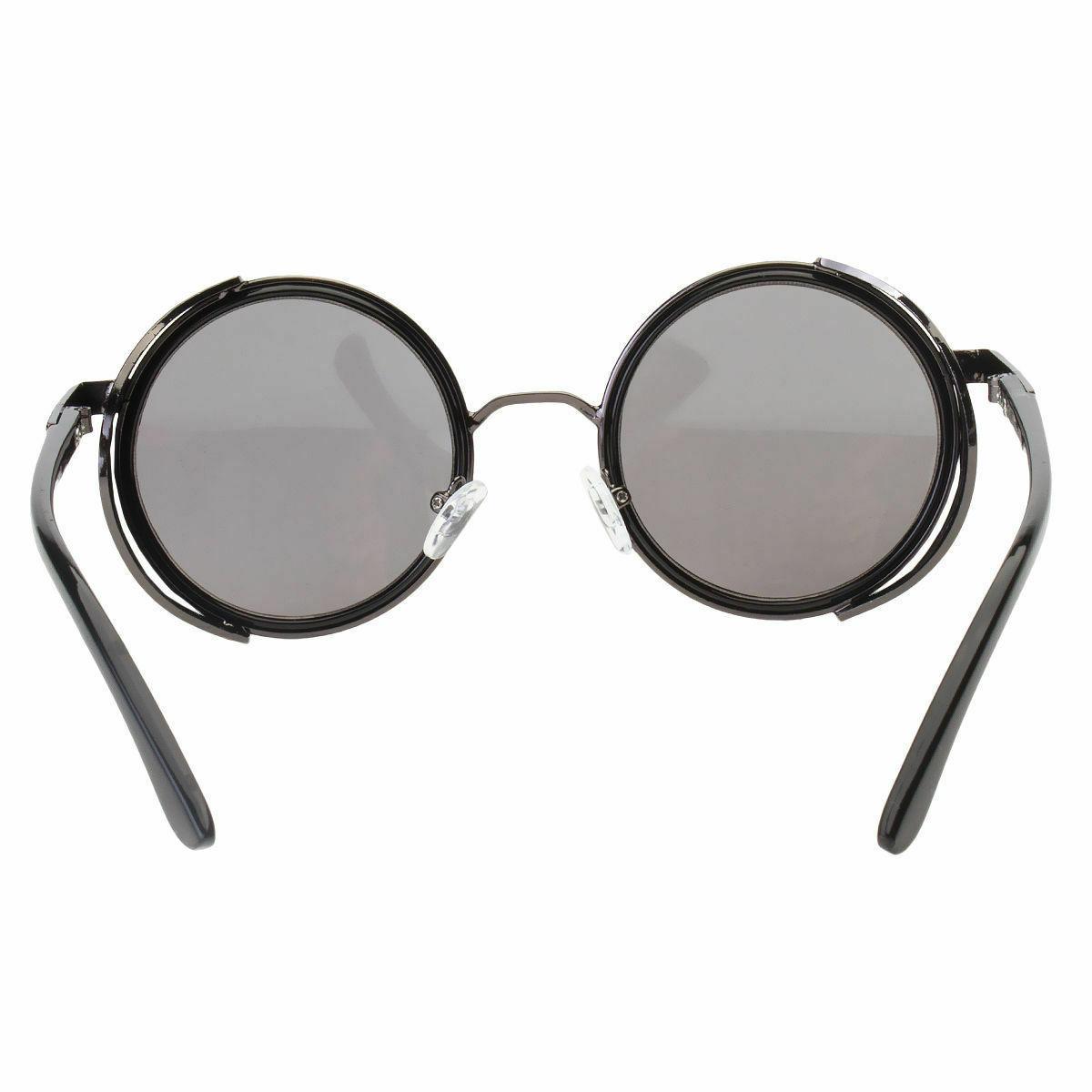 Vintage Retro Mirror Sunglasses Goggles Sun