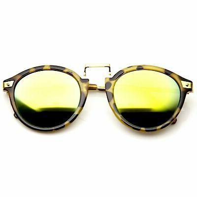 Vintage Inspired Round Horned Sunglasses 8591