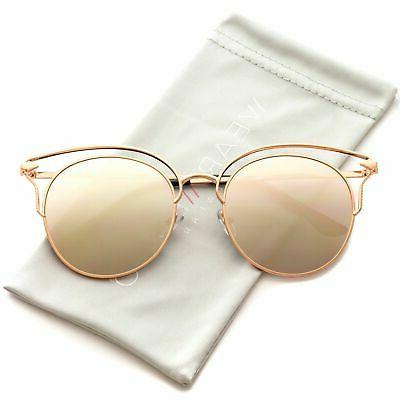 WearMe Pro - Fashion Designer Frame Round Cat Eye Sunglasses
