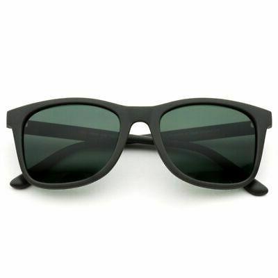 WearMe Pro - Polarized Horn Rimmed Classic Black Frame Sungl