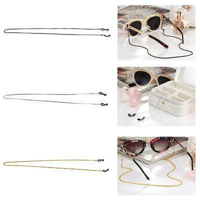 Women Men's Sunglasses Eyeglass Holder Metal Cord Reading Gl