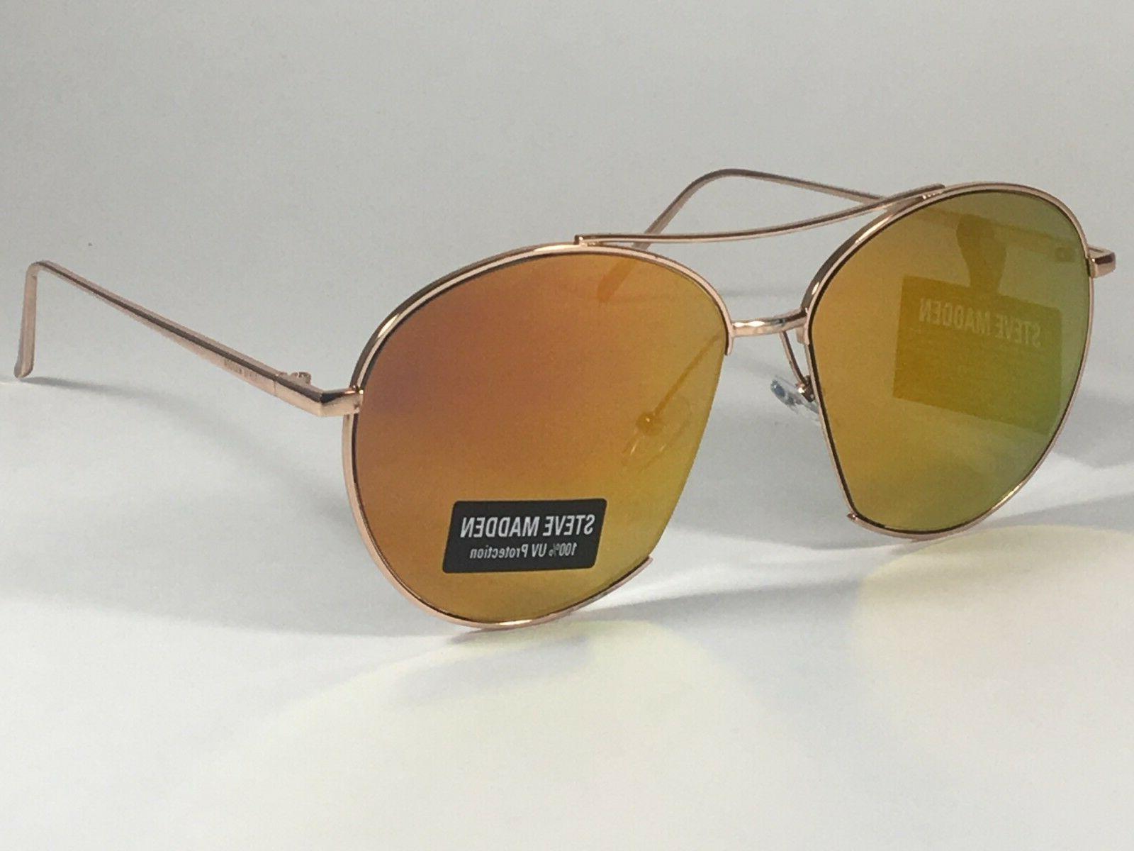 women s aviator sunglasses rose gold orange