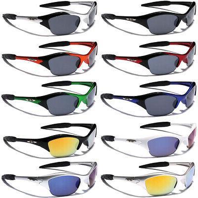 X-loop Half Frame Boys Girls 3-12 Cycling Sunglasses