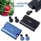 X2T Wireless Bluetooth Headset Stereo Earphone Charger 4.2 T