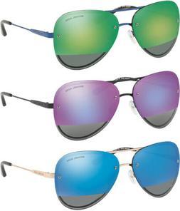 Michael Kors La Jolla Women's Aviator Sunglasses w/ Mirror L