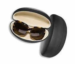 Large Sunglasses Case For Men & Women, Hard Shell Eyeglass C