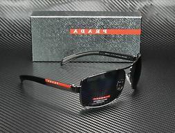 PRADA LINEA ROSSA PS 54IS 5AV5Z1 Gunmetal Polarized Gray 65