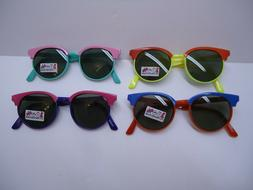 Lot of four VINTAGE style Quality SUNGLASSES for KIDS new 10