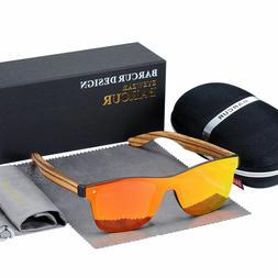Luxury Vintage Sun Shade Men Wooden Sunglasses Protection Fa