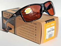 COSTA DEL MAR Mag Bay POLARIZED Sunglasses Black/Copper 580P