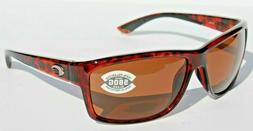 Costa Mag Bay Polarized Sunglasses - 580 Glass Lens Tortoise