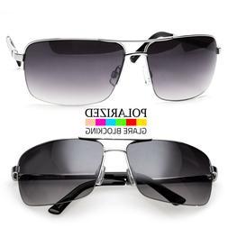 Men Classic Polarized Sunglasses Metal Driving Glasses Outdo