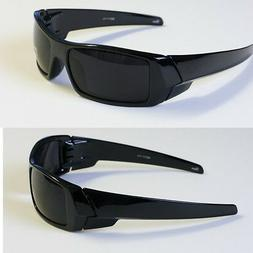 MEN DARK LENS GANGSTER BLACK OG SUNGLASSES - BIKER SHADES