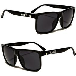 MEN DARK LENS LARGE GANGSTER BLACK OG SUNGLASSES LOCS OVERSI