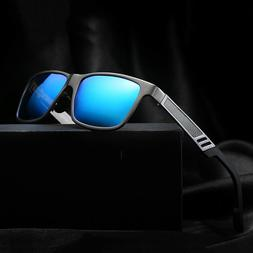Men's Aluminium Polarized Colored Sunglasses Driving Outdoor