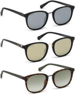 Guess Men's Classic Soft Square Sunglasses w/ Mirror Flash L