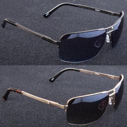 Men Classic Sunglasses Metal Driving Glasses Aviator Outdoor