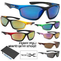 Men's Xloop Clear Color Light Weight Sports Wrap Small Face
