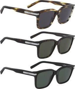 Salvatore Ferragamo Men's Flat Square Classic Sunglasses SF9
