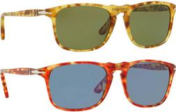 Persol Men's Handcrafted Tortoise Sunglasses w/ Tempered Gla