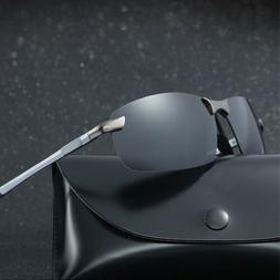 Men's HD Aviator Polarized Sunglasses Outdoor Driving UV400