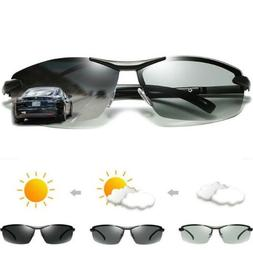 Men's Photo-chromatic Polarized Sunglasses Outdoor Driving F