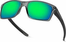 Men's Polarized Lens Sports Sunglasses Driving Glasses Shade