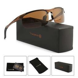 SUNGAIT Men's Polarized Sunglasses for Driving Fishing Golf
