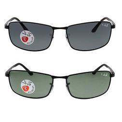 Ray Ban Men's Polarized Sunglasses RB3498 - Choose size & co