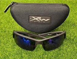 Wiley X Men's Saint Polarized Blue Mirror Matte Sunglasses B