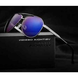 Men's Sunglasses Polarized Mirror Lens Big Ovsize Eyewear Ac