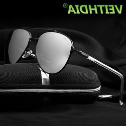 Men's Sunglasses Polarized Mirror Lens Eyewear Accessories S