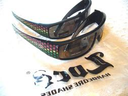 "MEN'S SUNGLASSES ""LOCS"" REAL MEN SHADES  100% UV PROTECTION"