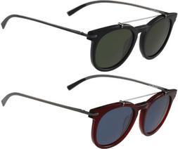 Salvatore Ferragamo Men's Vintage Round Sunglasses SF821S -