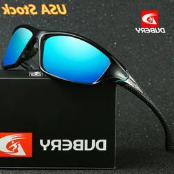 DUBERY Men Sport Polarized Sunglasses Outdoor Riding Fishing
