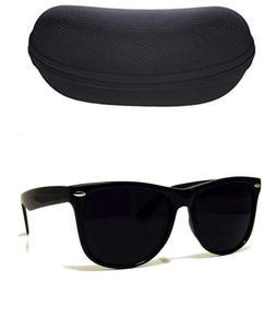 MEN Sunglasses Wayfare Style Black Frame Classic Super Dark