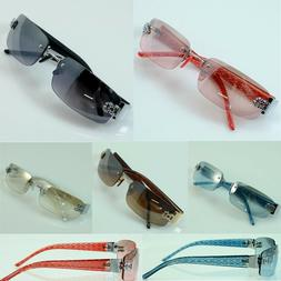 Men Women DG Sunglasses Eyewear Rimless Small Tint Shades Fa