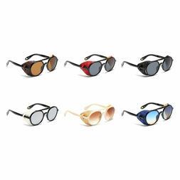 Men/Women Hot Sunglasses Steampunk Side Shield Summer Style