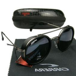 men women metal matte frame sunglasses windproof