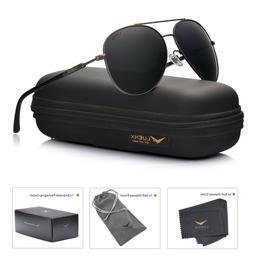 Men Women Sunglasses Aviator Polarized Driving by LUENX - UV