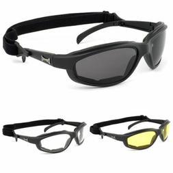 Mens Chopper Motorcycle Sunglasses Fishing Golf Sports Black
