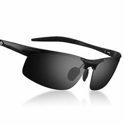 Mens Polarized Sports Sunglasses Women UV Protection Cycling