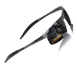 Mens Sports Polarized Sunglasses for Men UV Protection Al-Mg