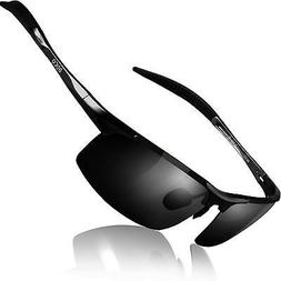 ba5663b51d DUCO Mens Sports Polarized Sunglasses UV Protection Sunglass