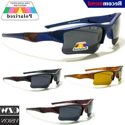 Mens Womens Polarized Sports Outdoor Wrap Driving Running Go