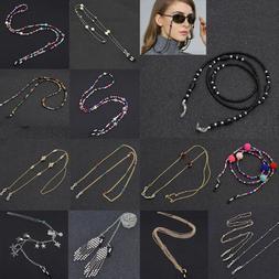 Metal Strap Bead Chain Glasses Spectacles Sunglasses Glasses