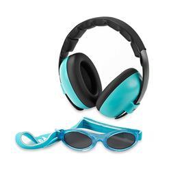 Baby Banz mini earmuffs combo Aqua  Earmuffs + Sunglasses 0-